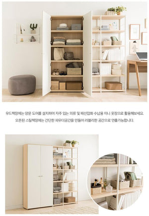 Join 600 5-level Wood Cabinet (accept pre-order)
