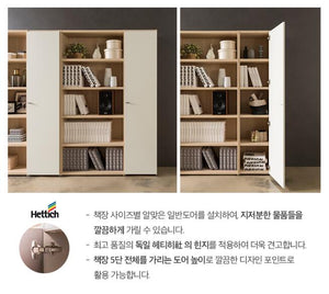Join 400 5-level Wood Cabinet with Door (accept pre-order)