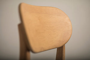 [Special] Checker Dining Chair Oak