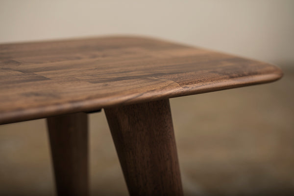 Retro Bench Walnut