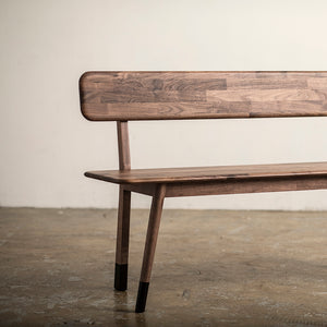 [Special] Plank Bench Walnut with Black Sock