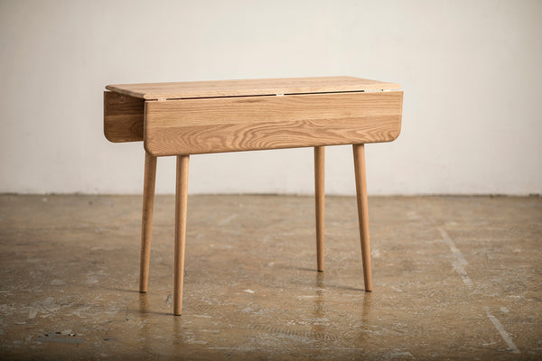 Retro Folding Table Oak