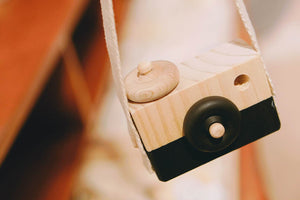 BLACK ACE - WOODEN TOY CAMERA