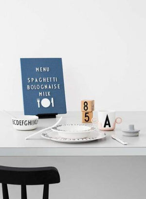 Food Icons for Messages Board - white