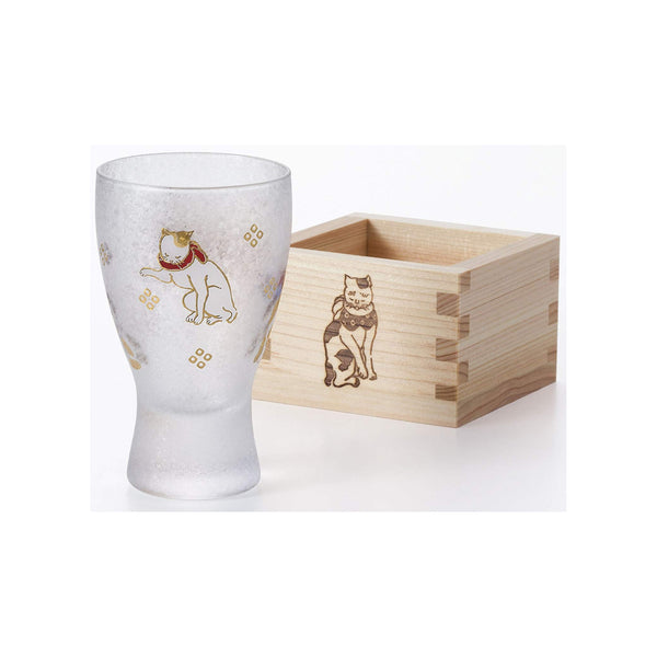 Adelia Japanese Sake Cup LUCKY ANIMALS - Cat