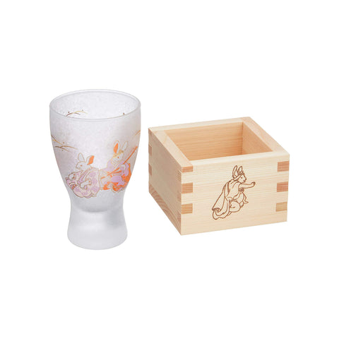 Adelia Japanese Sake Cup LUCKY ANIMALS - Rabbit