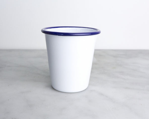 FALCON Mini Tumbler - White with Blue rim (accept pre-order)