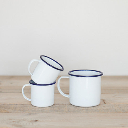FALCON Mug - White with Blue rim (accept pre-order)