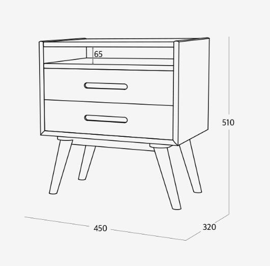NEW RETRO Double Cabinet A (accept pre-order)