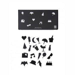Party Icons for Messages Board - black