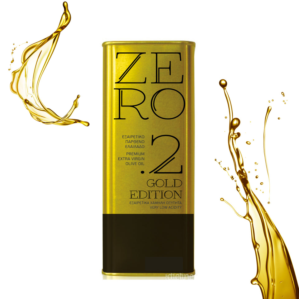 ZERO 2 GOLD EDITION 5L, Natives Olivenöl aus Kreta