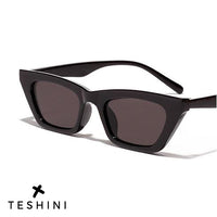 Black Retro Cateye Stylish Vintage Sunglasses