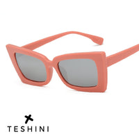 Rectangle Sun Glasses Cat Eye - Teshini