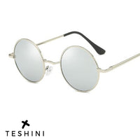 Silver Retro Vintage Polarized Sunglasses