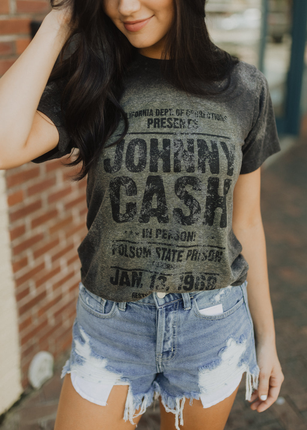 Johnny Cash Folsom State Prison Graphic Tee