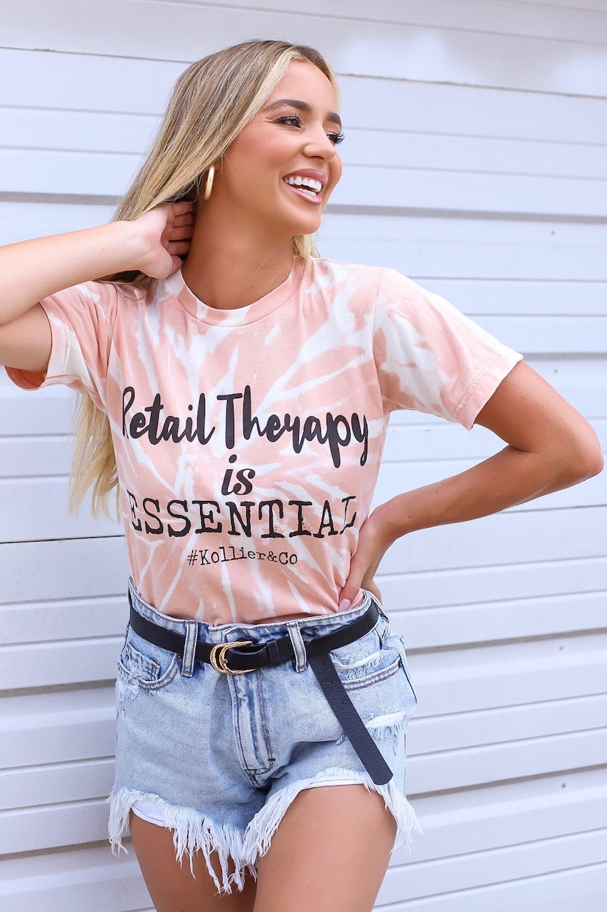 Retail Therapy Is Essential Graphic Tee