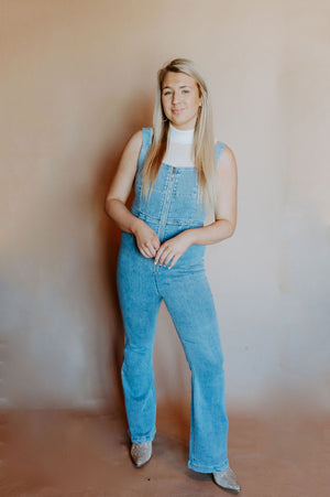 Everything Denim Overalls