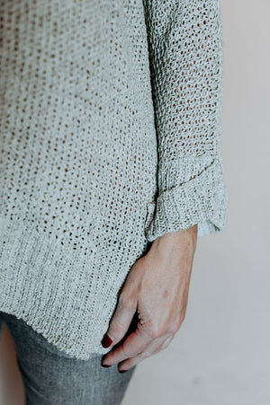 Elena Sweater in Mint