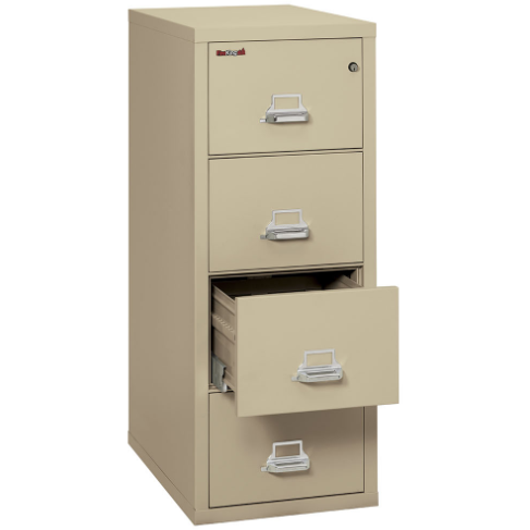 FireKing Fire File Cabinet FireKing 4‐2131‐C Fire & Water Resistant File Cabinet - 4 Drawers - Legal Size Folder 4‐2131‐C