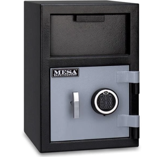 Mesa Safe - Front Load Depository Safe - MFL2014E - Electronic Lock