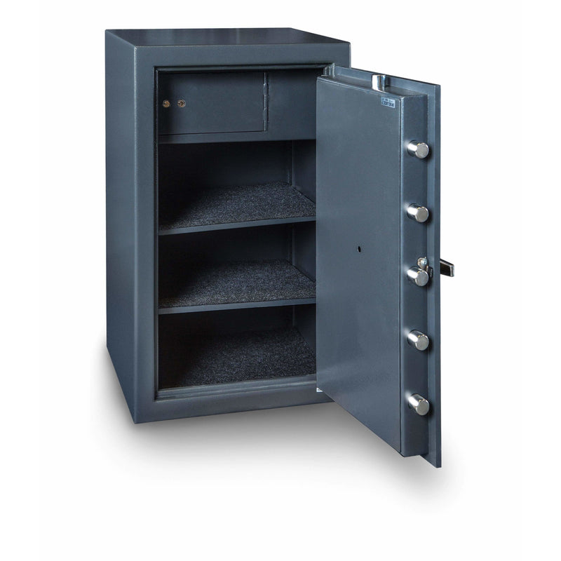 Hollon Safe Commercial Cash Safe Hollon Safe Solid Steel B-Rated Commercial Cash Safe B3220CILK B3220CILK
