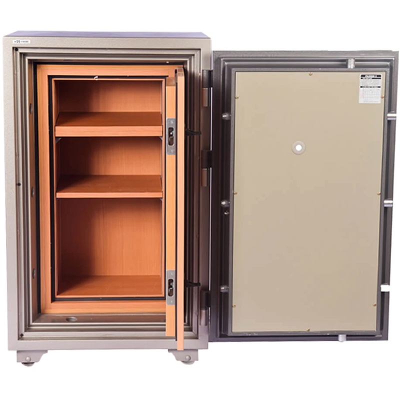 Hollon Safe HDS-1000E 1 Hr Fire Resistant Safe - Business and Home Safe with Electronic Lock