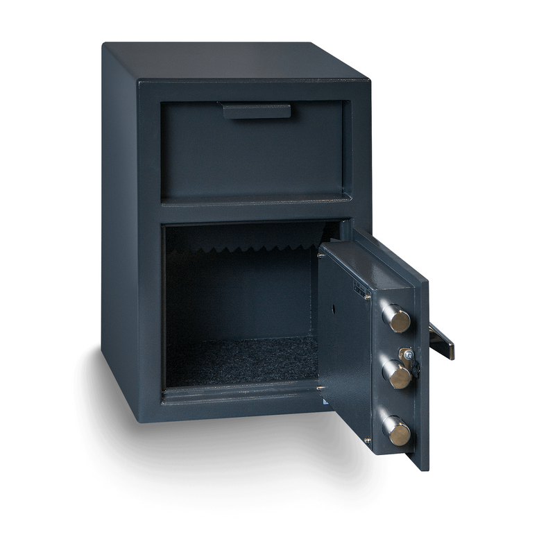 Hollon Safe Deposit Safe Hollon Safe Depository Safe FD-2014E, Heavy Duty B-Rated Drop Safe FD-2014E