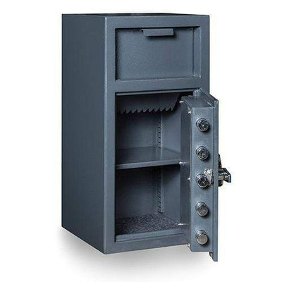 Hollon Safe Deposit Safe Hollon Safe Depository Safe FD-2714C, Heavy Duty B-Rated Drop Safe FD-2714C