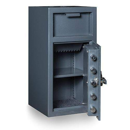 Hollon Safe Deposit Safe Hollon Safe Depository Safe FD-2714K, Heavy Duty B-Rated Drop Safe FD-2714K