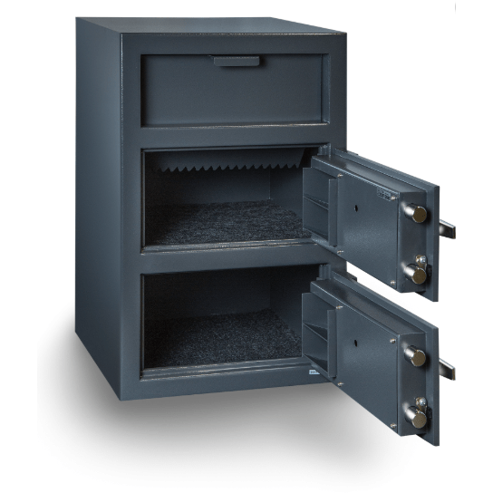 Hollon Safe Deposit Safe Hollon Safe Double Door Depository Safe FDD-3020CC FDD-3020CC