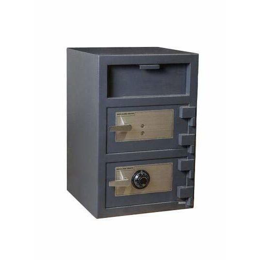 Hollon Safe Deposit Safe Hollon Safe Double Door Depository Safe FDD-3020CK FDD-3020CC