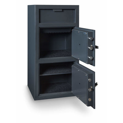 Hollon Safe Deposit Safe Hollon Safe Double Door Depository Safe FDD-4020EE FDD-4020EE