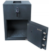 Hollon Safe RH-2014C Rotary Hopper Depository Safe, Money Safe, Dial Lock