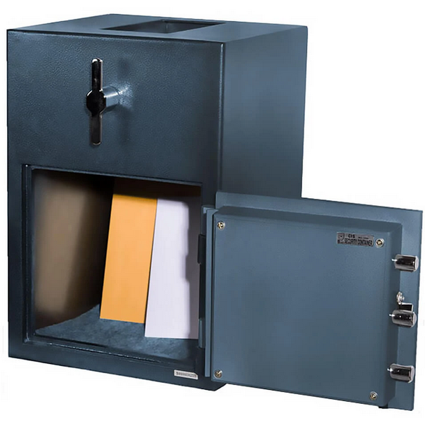 Hollon Safe RH-2014K Rotary Hopper Depository Safe, Key Lock