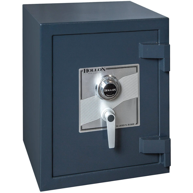 Hollon Safe TL-15 Burglary Home Safe PM-1814C, Fire Resistant, Dial Lock