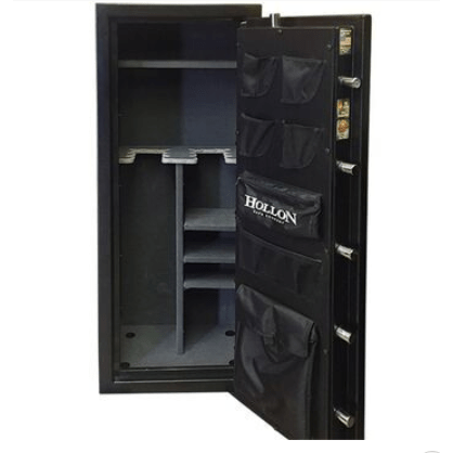 Hollon Safe Gun Safe Hollon Safe Gun Safe - Crescent Shield Gun Safe Series CS-12E - 12 Gun Capacity Storage CS-12E