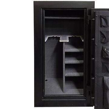 Hollon Safe Gun Safe Hollon Safe Gun Safe - Crescent Shield Gun Safe Series CS-24E - 24 Gun Capacity Storage CS-24E