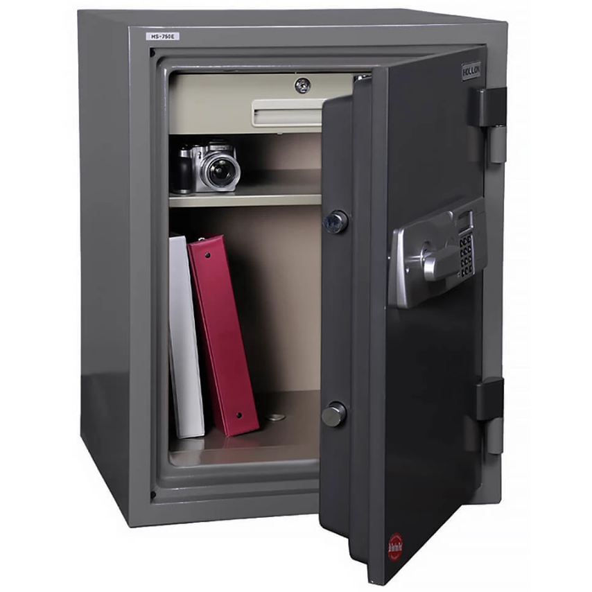 Hollon Safe Home Safe Hollon Safe HS-750E 2 Hr Fire Resistant Home Safe, Electronic Safe HS-750E