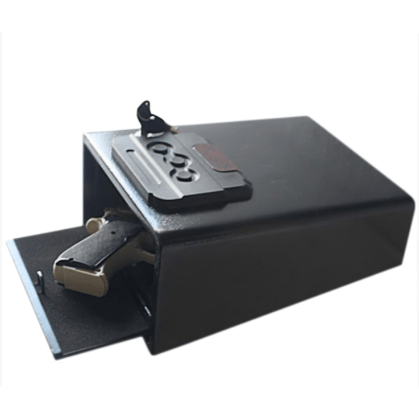 Hollon Safe Pistol Safe Hollon Safe Pistol Box, PB10 - Fit in Drawer or Automobile Gun Lock PB10