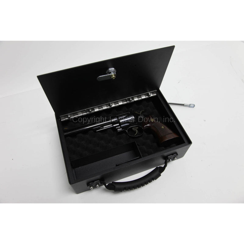 Lock'er Down VersaSafe LD1929 For Laptops or multiple handguns, Pistol Safe