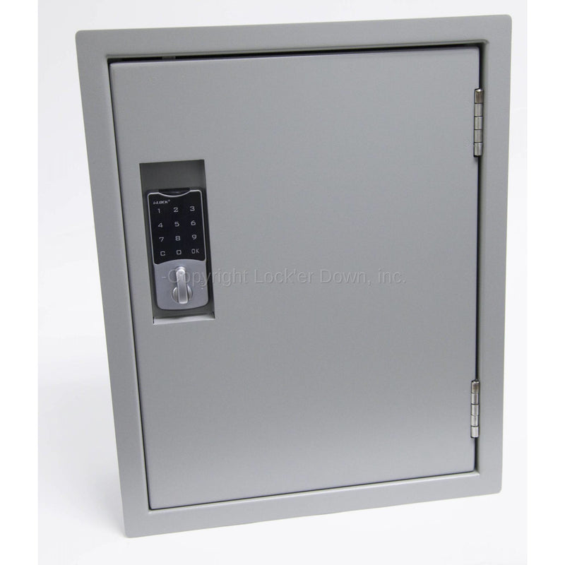 "Lock'er down 18"" Wall Safe - LD5000, Electronic Lock"