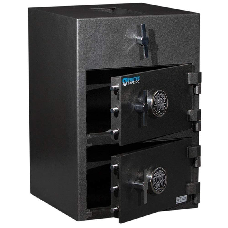 Protex Safes Deposit Safe Protex Depository Safe - RDD-3020 II - B-Rated Dual Door Drop Safe with SecuRam electronic lock RDD-3020 II