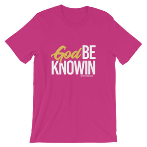"""God Be Knowin"" Tee (Multiple Colors)"