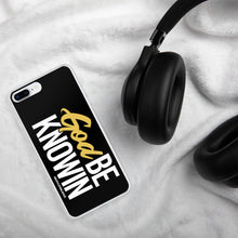 "Load image into Gallery viewer, ""God Be Knowin"" iPhone Case"