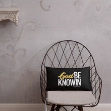 "Load image into Gallery viewer, ""God Be Knowin"" Pillow"