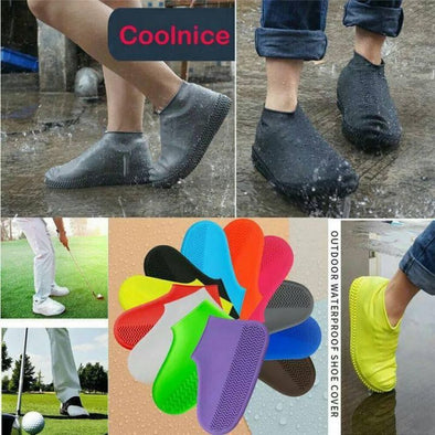 Couvre chaussures imperméable en silicone