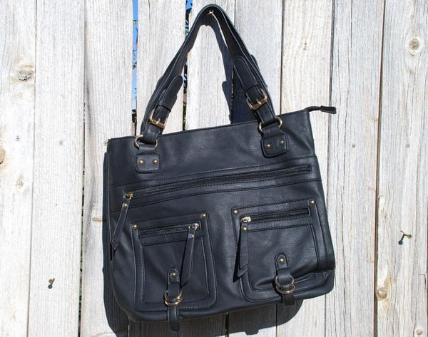 Black Stallion Handbag