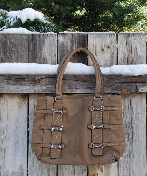 Waverly Buckle Handbag