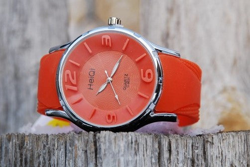 Oversized Orange Watch