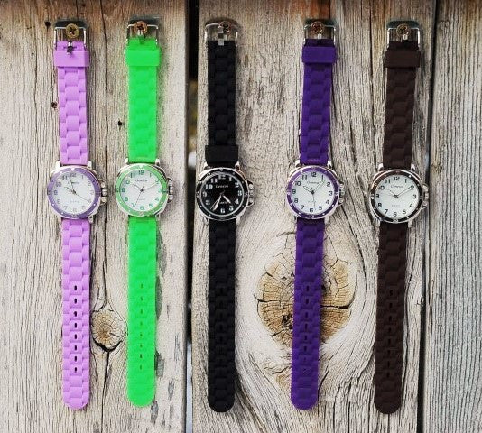 Colorful Strap Watches